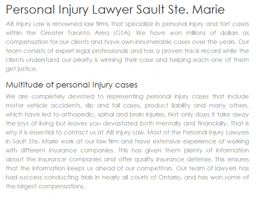 AB Personal Injury Lawyer
