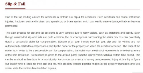 APC Personal Injury Lawyer 413 Whitney Ave Unit A Hamilton, ON L8S 2H6 (800) 931-7036  https://apclaw.ca/hamilton.html