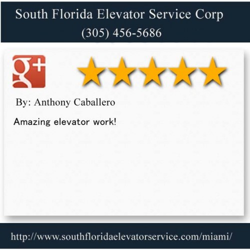 South Florida Elevator Service Corp.